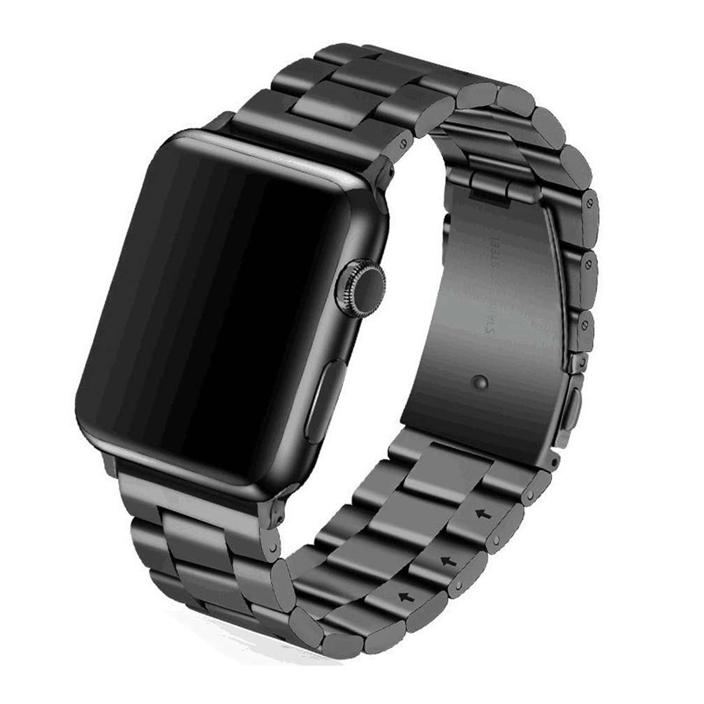 Space Black Stainless Steel Apple Watch Band By Tws Sydney