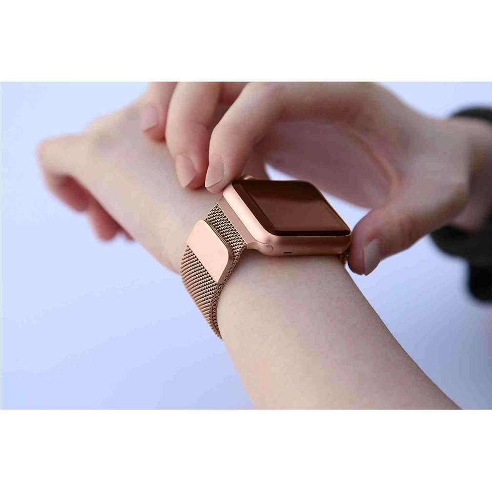 dba990231eb Vintage Rose Gold Milanese Apple Watch Band By TWS Sydney - The ...