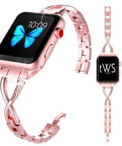 Rose-Gold-X-Bling-Bracelet-Apple-Watch-Band-01